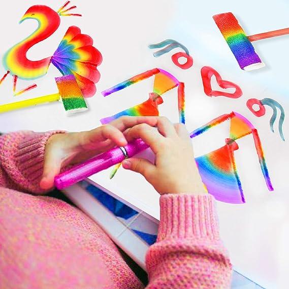 Amazon.com: Juego completo de pinturas para niños, incluye ...
