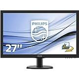 Philips 273V5LHSB/00 68,6 cm (27 Zoll) Monitor (VGA, HDMI, 1920 x 1080, 60 Hz) schwarz