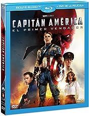 Capitán América: El Primer Vengador (BR + DVD Combo Pack) [Blu-ray]