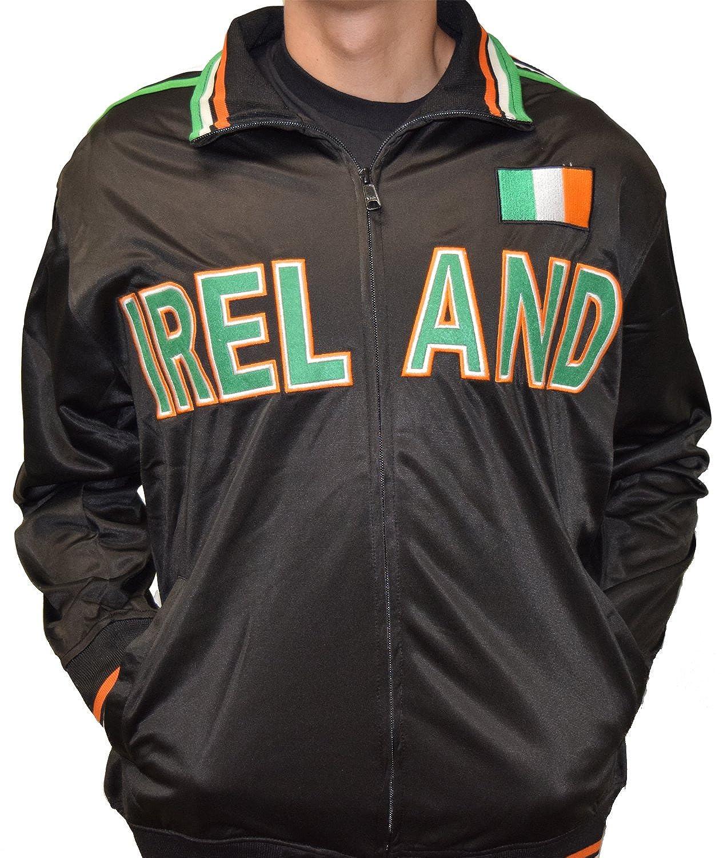 Amazon.com: amdesco Irlanda Full cierre de cremallera Sport ...