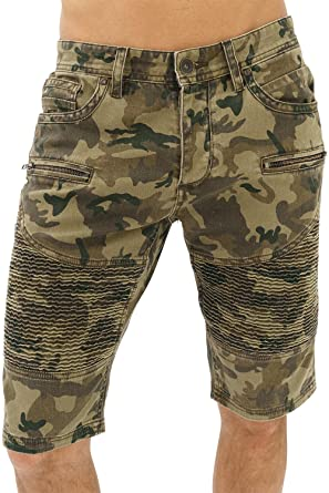 a3b7f3b42f trueprodigy Casual Mens Clothes Funny Cool Designer Denim Shorts Jeans Men  Slim Fit Military Design Strech Used Sale: Amazon.co.uk: Clothing