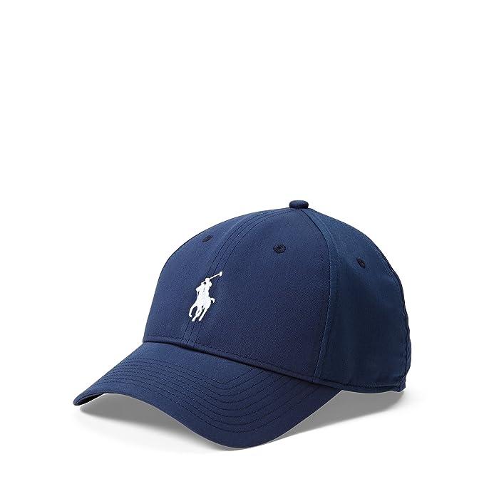 0d9dd4de342 Polo Ralph Lauren Men`s Baseline Performance Cap (French Navy(5001 ...