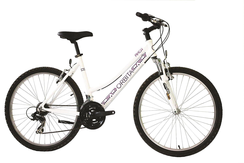 Orbita BTT 26 Rhea Bicicleta, Mujer, Blanco, XL: Amazon.es ...