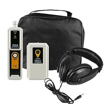 MRCARTOOL Polvo de gas del aire del agua del detector de fugas ultrasónico con el kit
