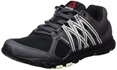 46dda8739eac Reebok Women s Yourflex Trainette 8.0 Gymnastics Shoes  Amazon.co.uk ...
