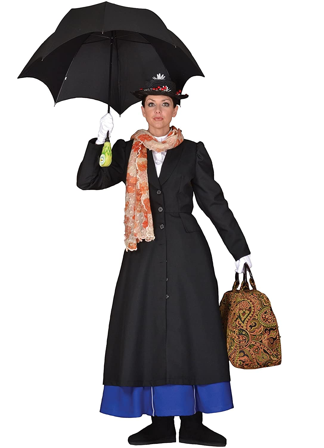 Amazon.com: Deluxe Mary Poppins/Steampunk Alfombra Bag ...