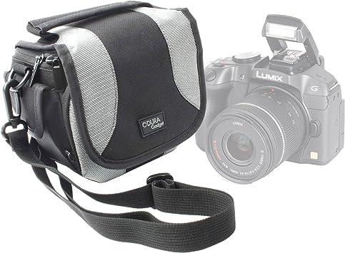 DURAGADGET Bolso Negro Y Gris para Cámara Kodak AZ421 ...
