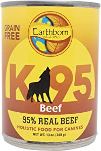 Earthborn Holistic K95 Beef Recipe Grain-Free Canned Moist Dog Food