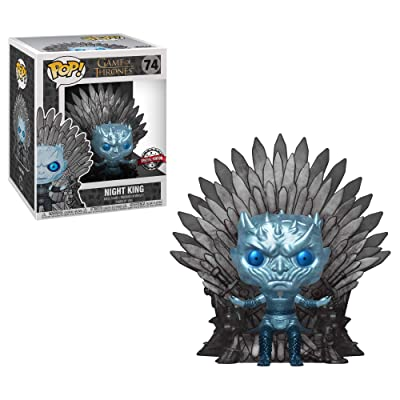 POP! Metallic Night King ON Throne Funko Game of Thrones HBO Exclusive: Toys & Games