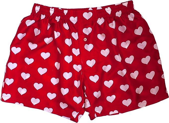 Heart Boxers for Men