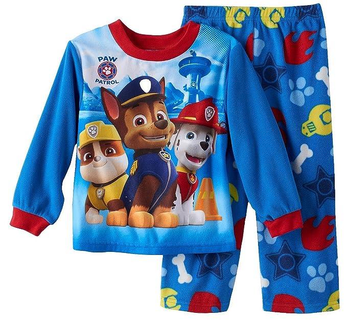 Nickelodeon Paw Patrol Toddler Boys de forro polar pijama Set, tamaños 3T-4T