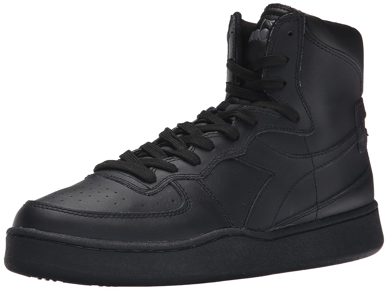 Diadora Men's MI Basketball Shoe 9.5 D(M) US|Black