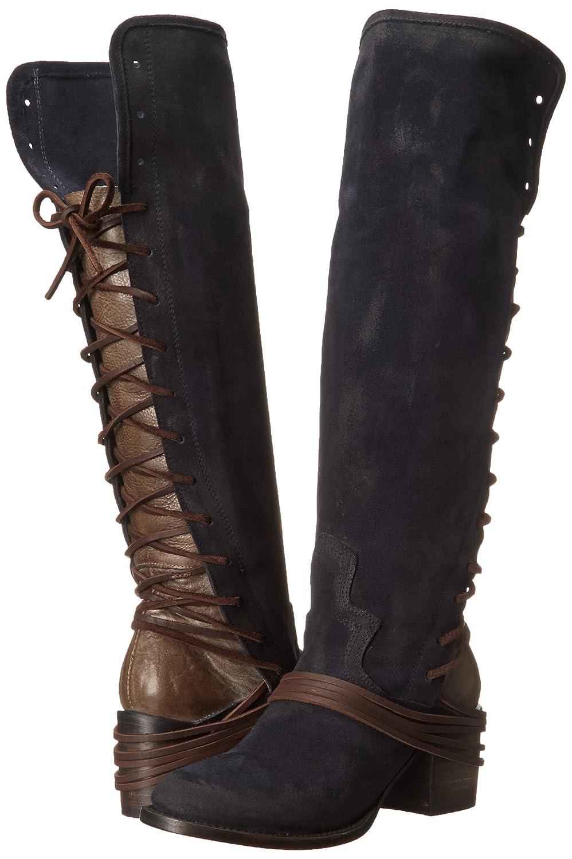 Freebird Women's Coal Riding Boot B00UUFGSLA 7 M US|Navy Suede