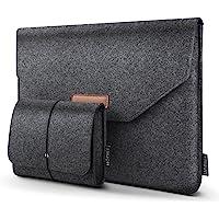 HOMIEE 13.3Zoll und 15.6 Zoll Laptoptasche mit Extra Aufbewahrungsbox,Klettverschluss