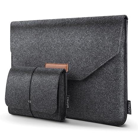HOMIEE Funda Protectora de Fieltro para portátiles de 13-13.3 Pulgadas para MacBook para MacBook