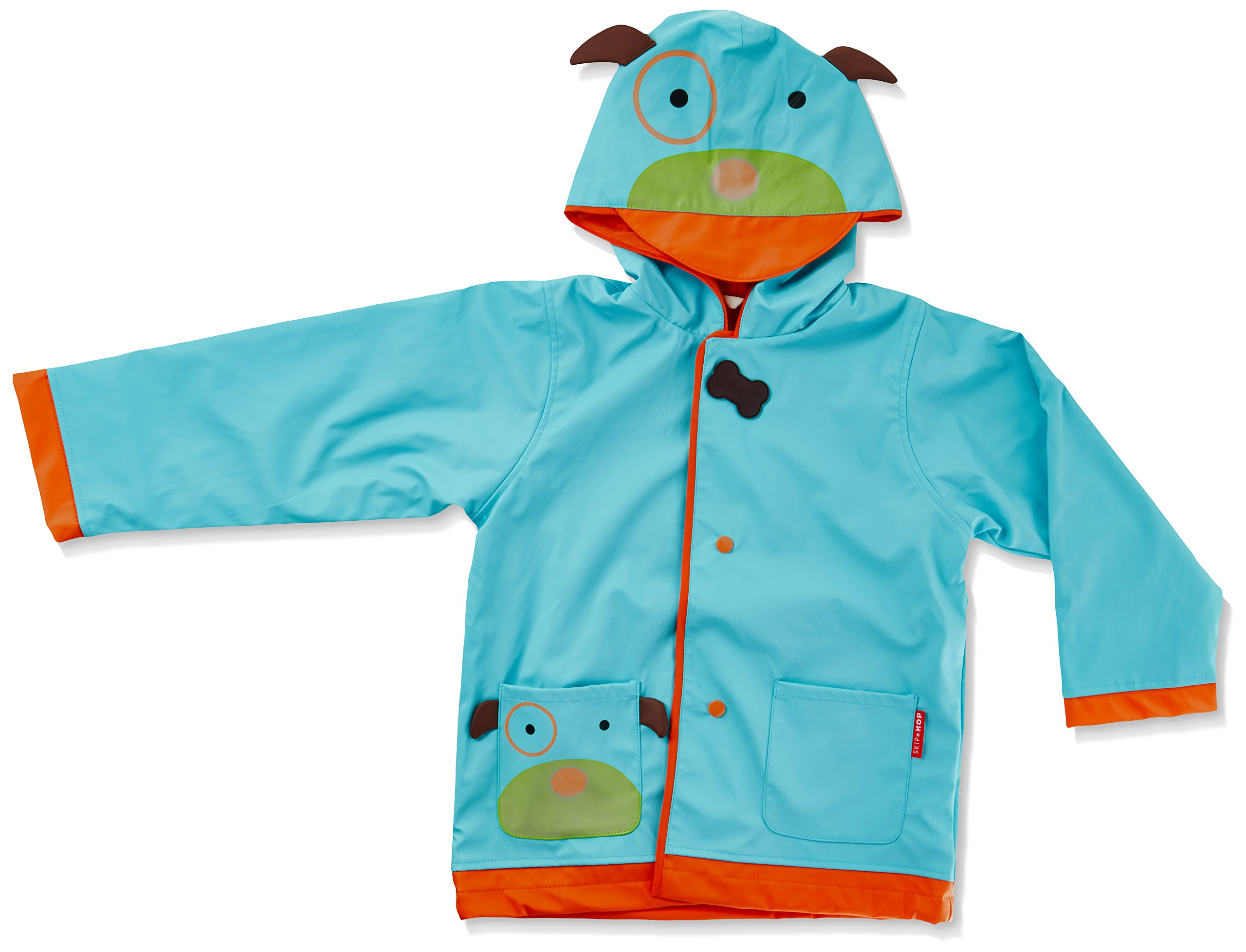 SkipHop Little Kid & Toddler Girls' Zoo Raincoat, Darby Dog, Small (2) by Skip Hop