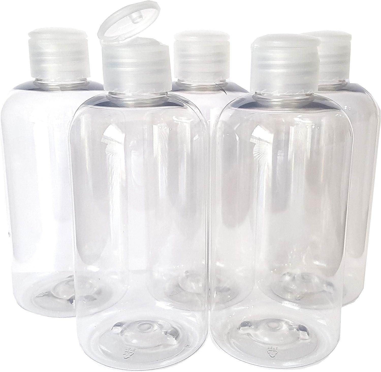 Detail Solutions 5 Botellas vacías de plástico Transparente con ...