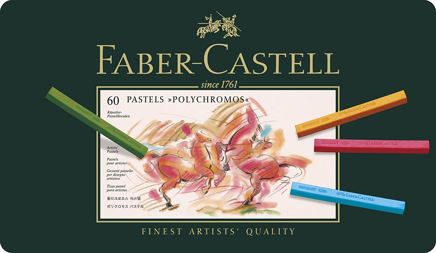 Faber-Castell Polychromos Artists Pastels - Box of 24 F128524