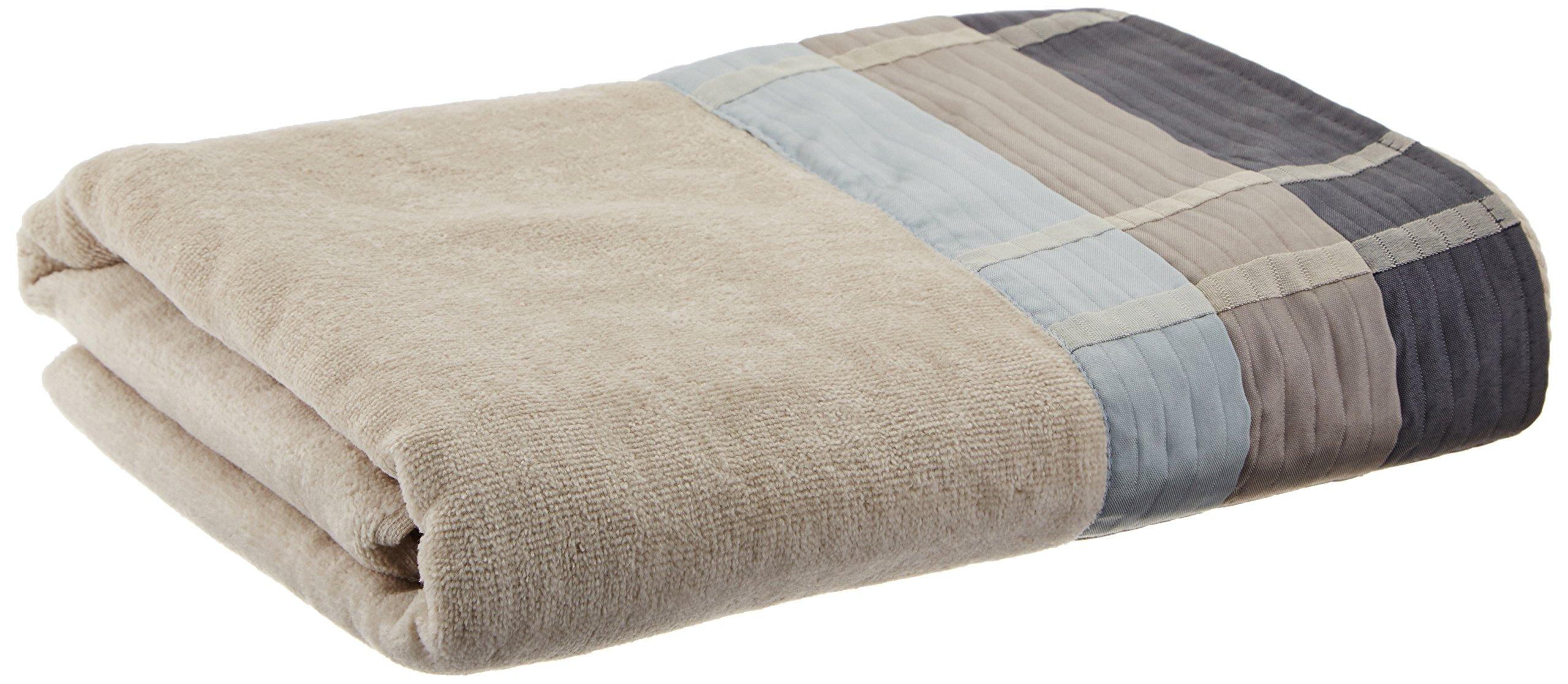 Croscill Fairfax Hand Towel, 16 by 28-Inch, Slate