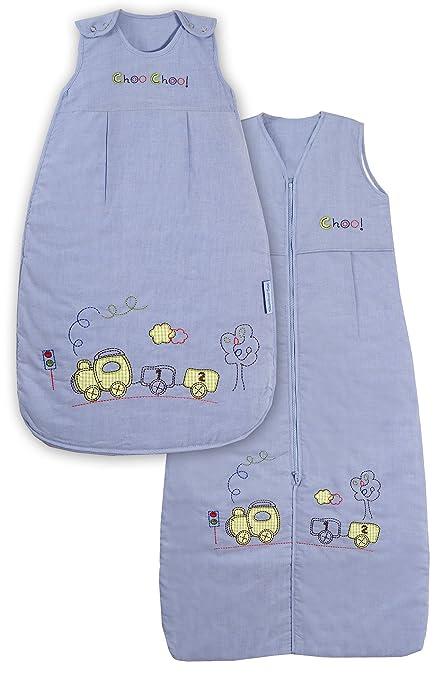 Slumbersac - Saco de dormir para bebé con diseño de tren (todo el año,