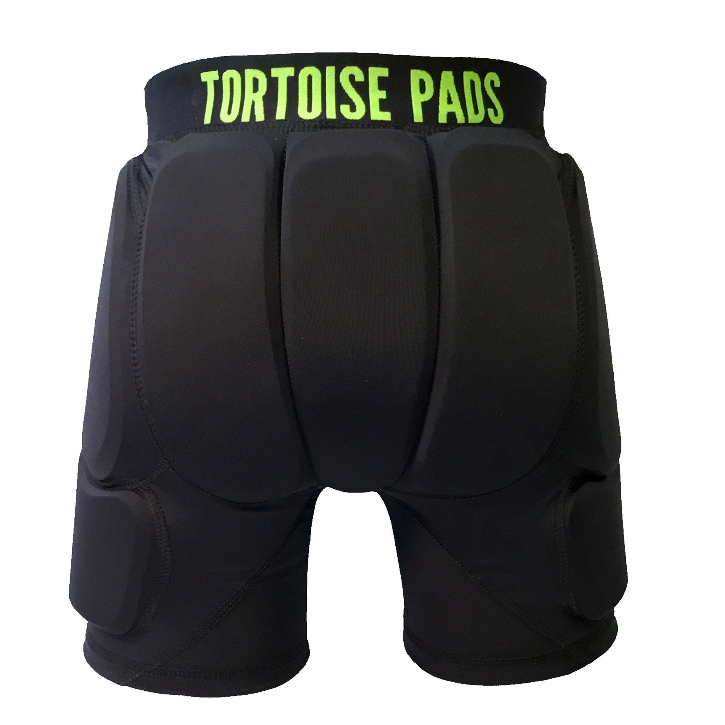 Tortoise Pads T2 High Impact Protection Padded Shorts with Dual Density EVA Foam (Adult Medium) by Tortoise Pads