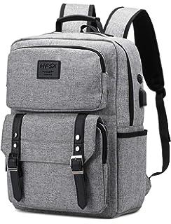 3b8e1b4978cf Amazon.com: Laptop Backpack with USB Charging Port,Slim Travel ...