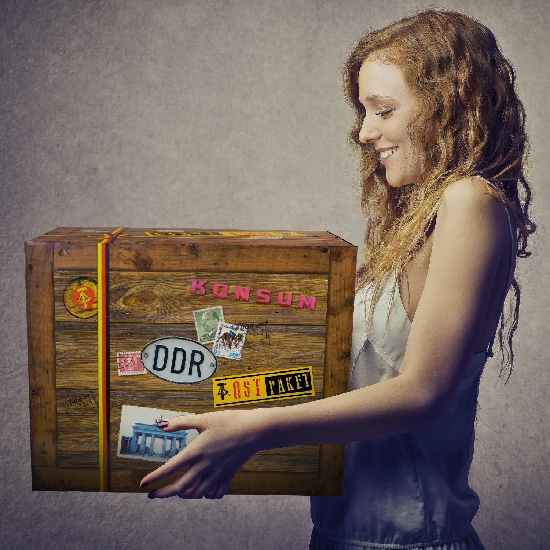 Geschenk zum 34.   Ossi Paket Paket Paket   Geburtstag Set 34 Geschenke witzig B07HMM5HSH   Tadellos  dbd51a