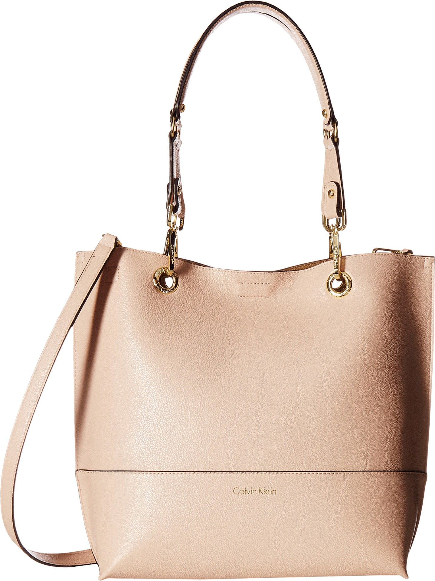 Calvin Klein Women's Unlined Tote Dessert Taupe One Size