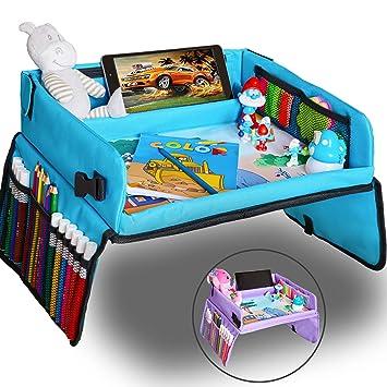 Amazon.com: KBT - Bandeja de viaje para niños, actividad ...