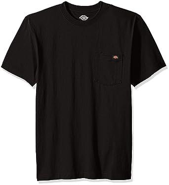 cef79279cb1d Amazon.com: Dickies Men's Short Sleeve Heavyweight Crew Neck T-Shirt ...
