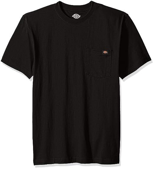 b32e52fa0a8 Amazon.com  Dickies Men s Short Sleeve Heavyweight Crew Neck T-Shirt ...