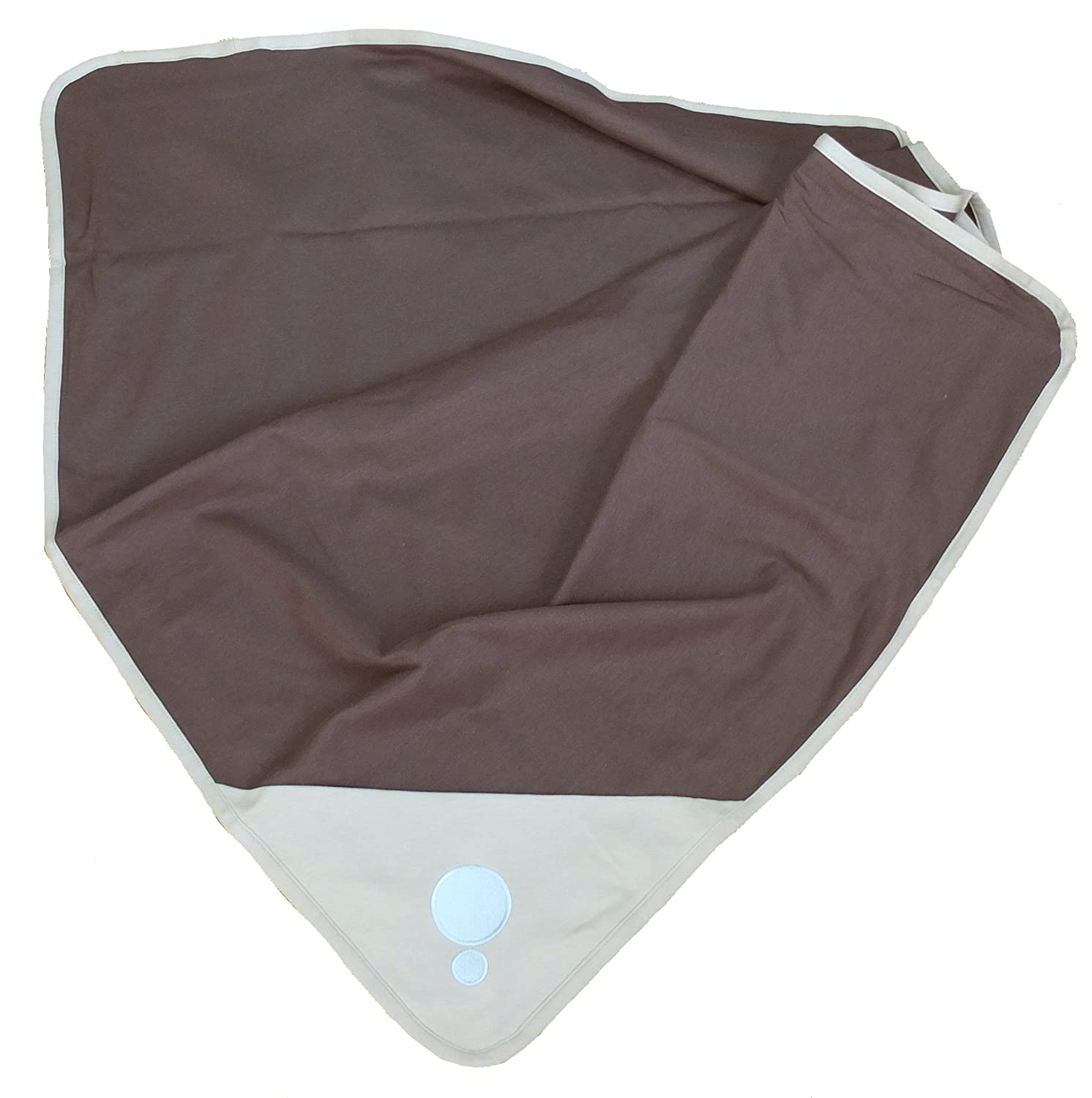BELLY ARMOR Anti-Radiation Belly Blanket Chic Metro (Light Grey, 100% Cotton, 30 x 35 inches) | Radiation-shielding Baby Blanket | EMF Protection for Pregnancy, Fertility, Early Childhood RadiaShield Technologies BBC.M.04.10.00002