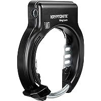 Kryptonite Ring Lock Non Retractable Antivol de Roue vélo Mixte Adulte, Noir