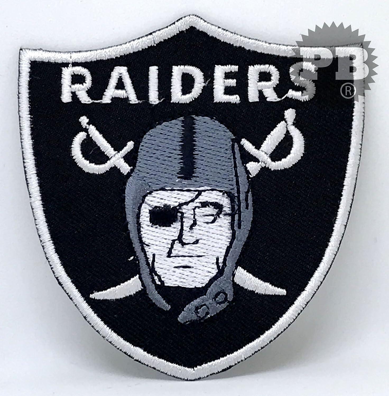# 134The Oakland Raiders Patch zum Aufbügeln/Aufnähen. Embrologos