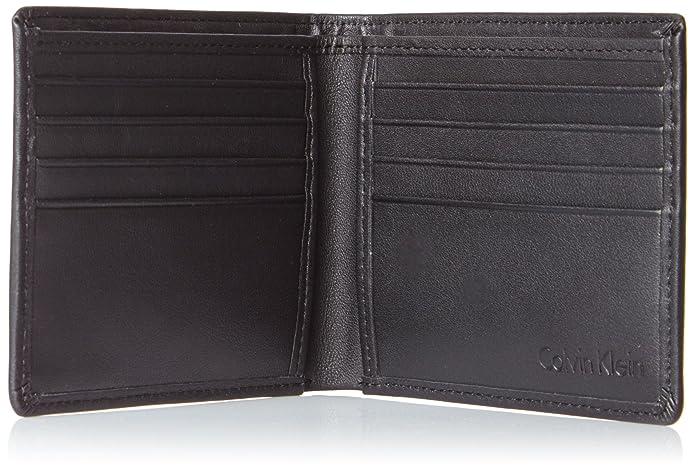 Calvin Klein Jeans K50K500734, Cartera Hombre, Negro (Black), 3x10x13 cm (B x H x T): Amazon.es: Zapatos y complementos