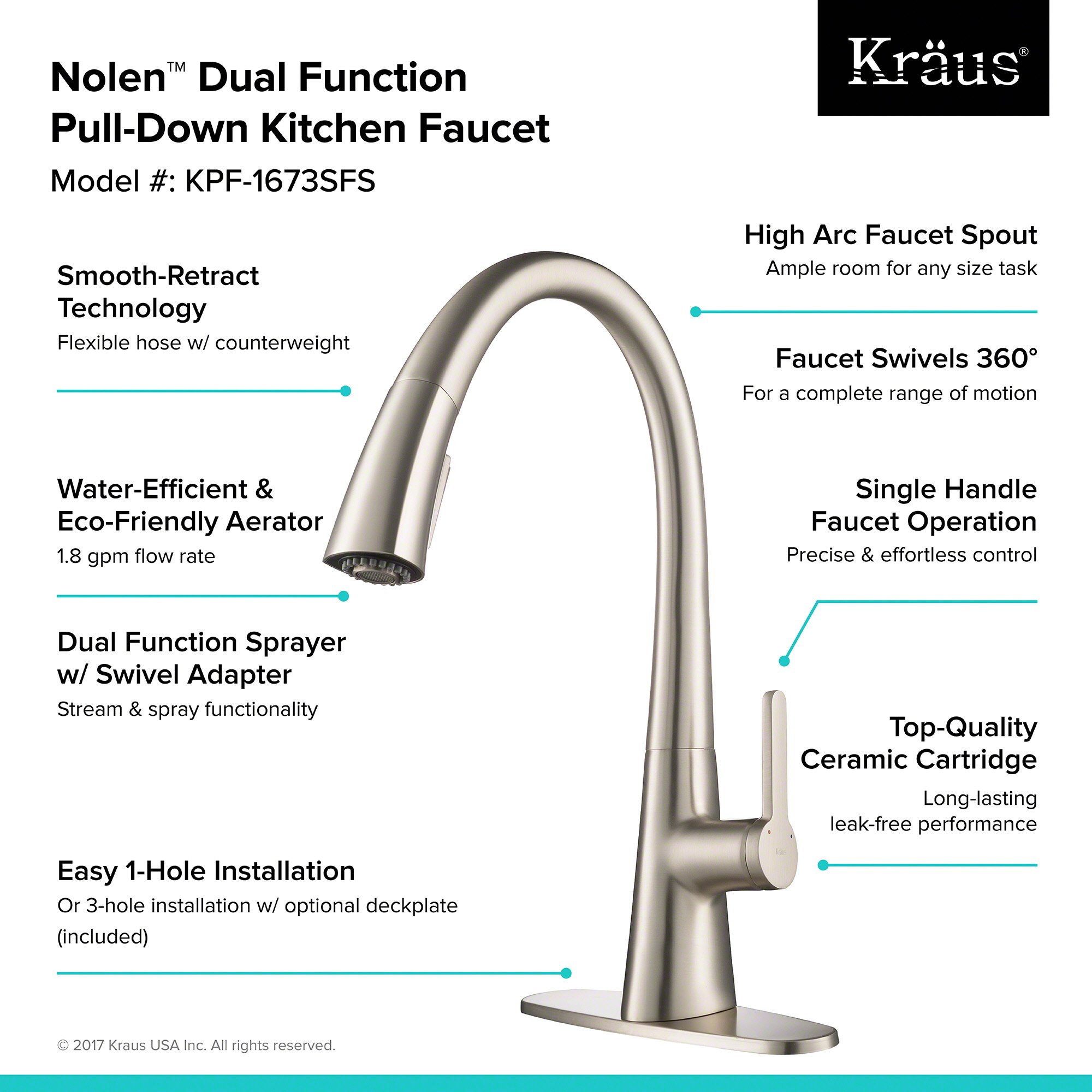 Best Kitchen Faucets 2019 Our Top Picks And Buyer S Guide