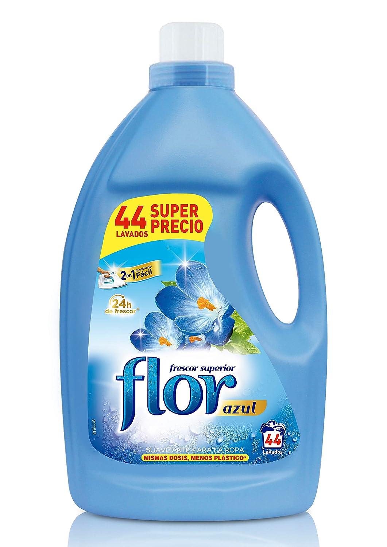 Flor Suavizante para la ropa Azul Frescor Superior - 44 lavados ...