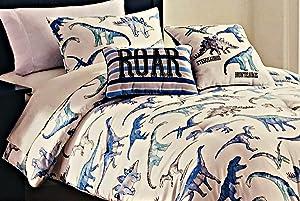 Max Studio Kids Boys 4-pc. Twin Dinosaur Comforter Set   100% Easy Care Polyester
