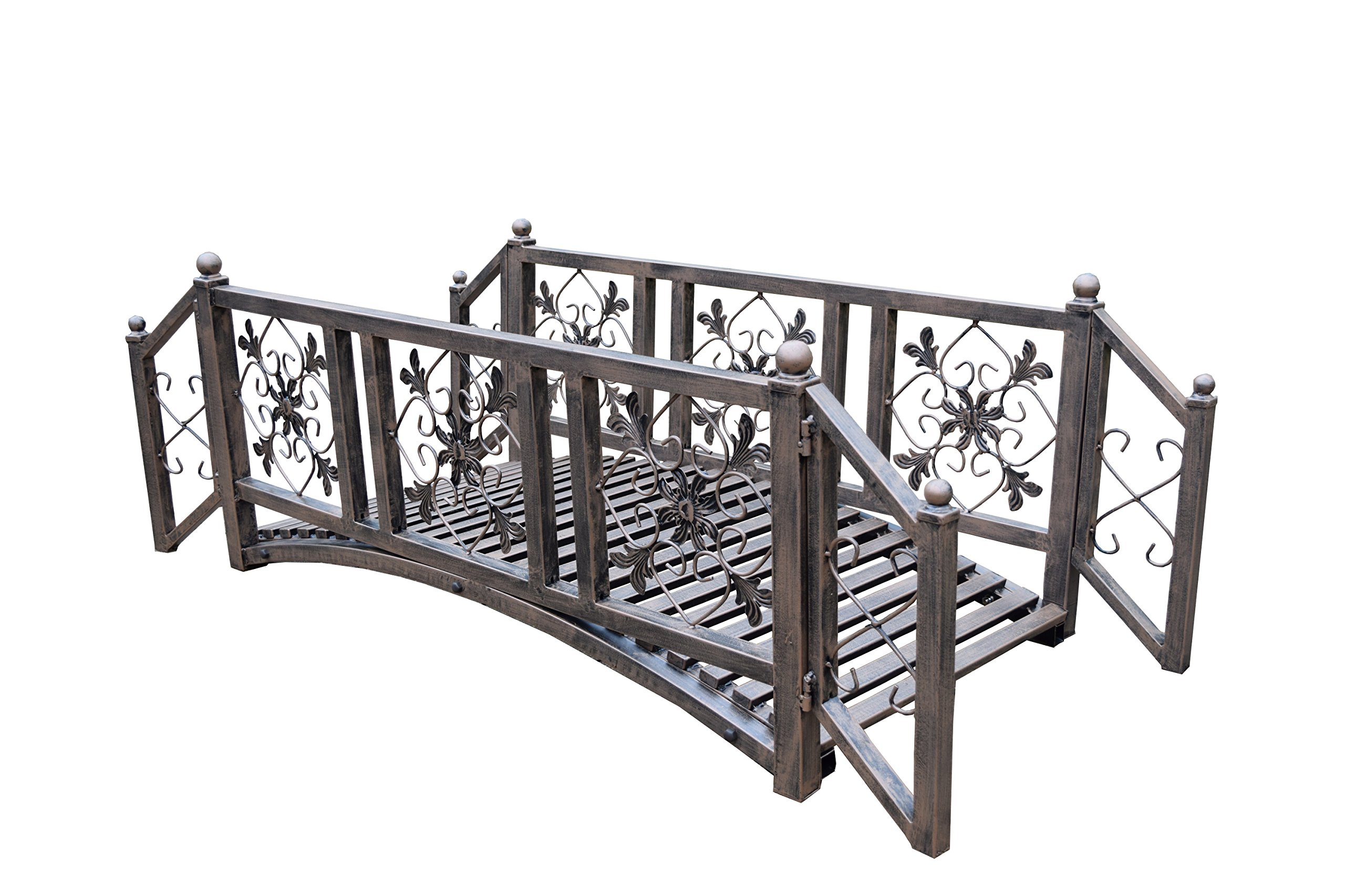 Oakland Living Garden Bridge, Antique Bronze