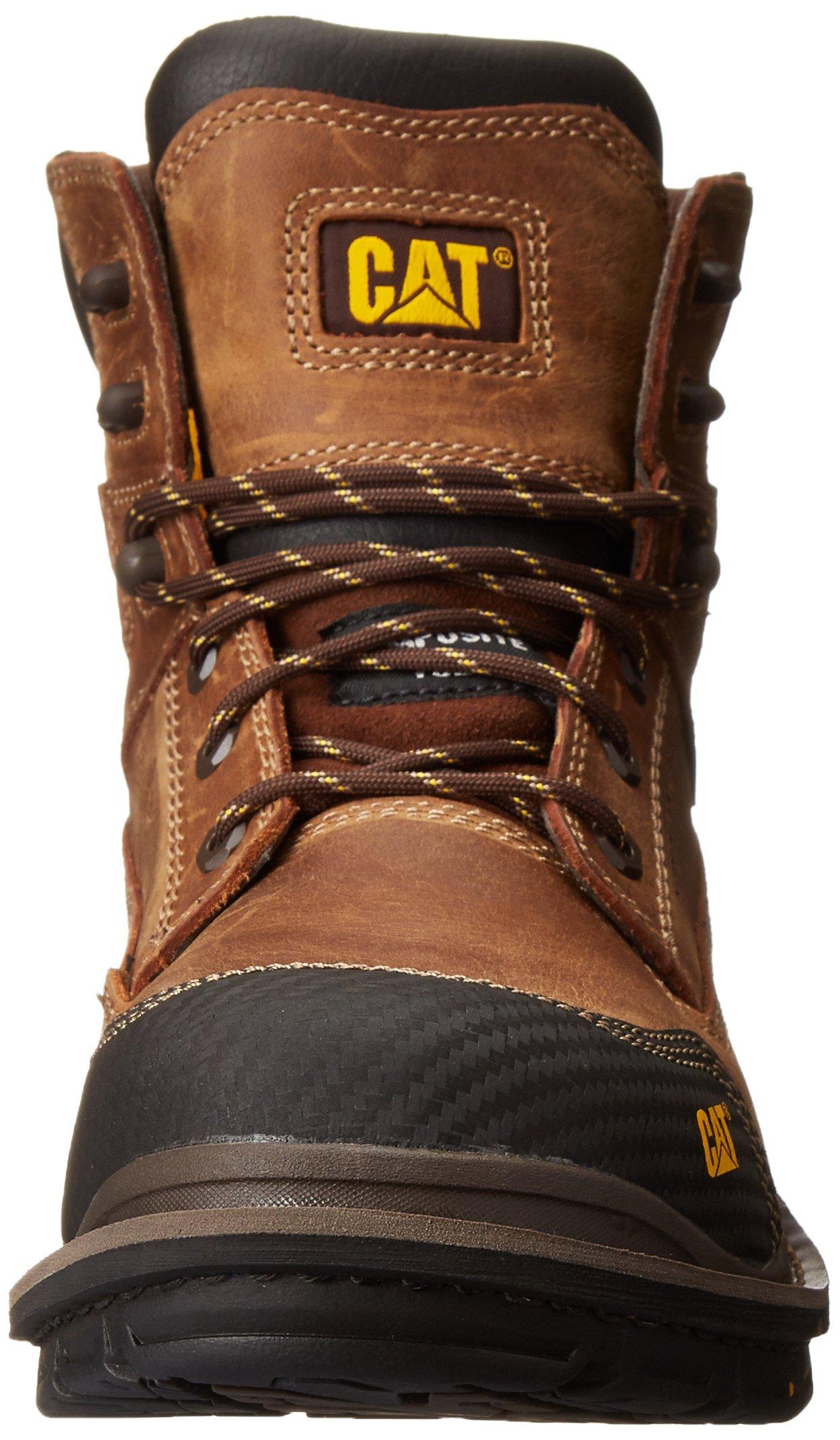 Caterpillar Men's Fabricate 6 Inch Tough Waterproof Comp Toe Work Boot, Brown, 14 M US by Caterpillar (Image #4)