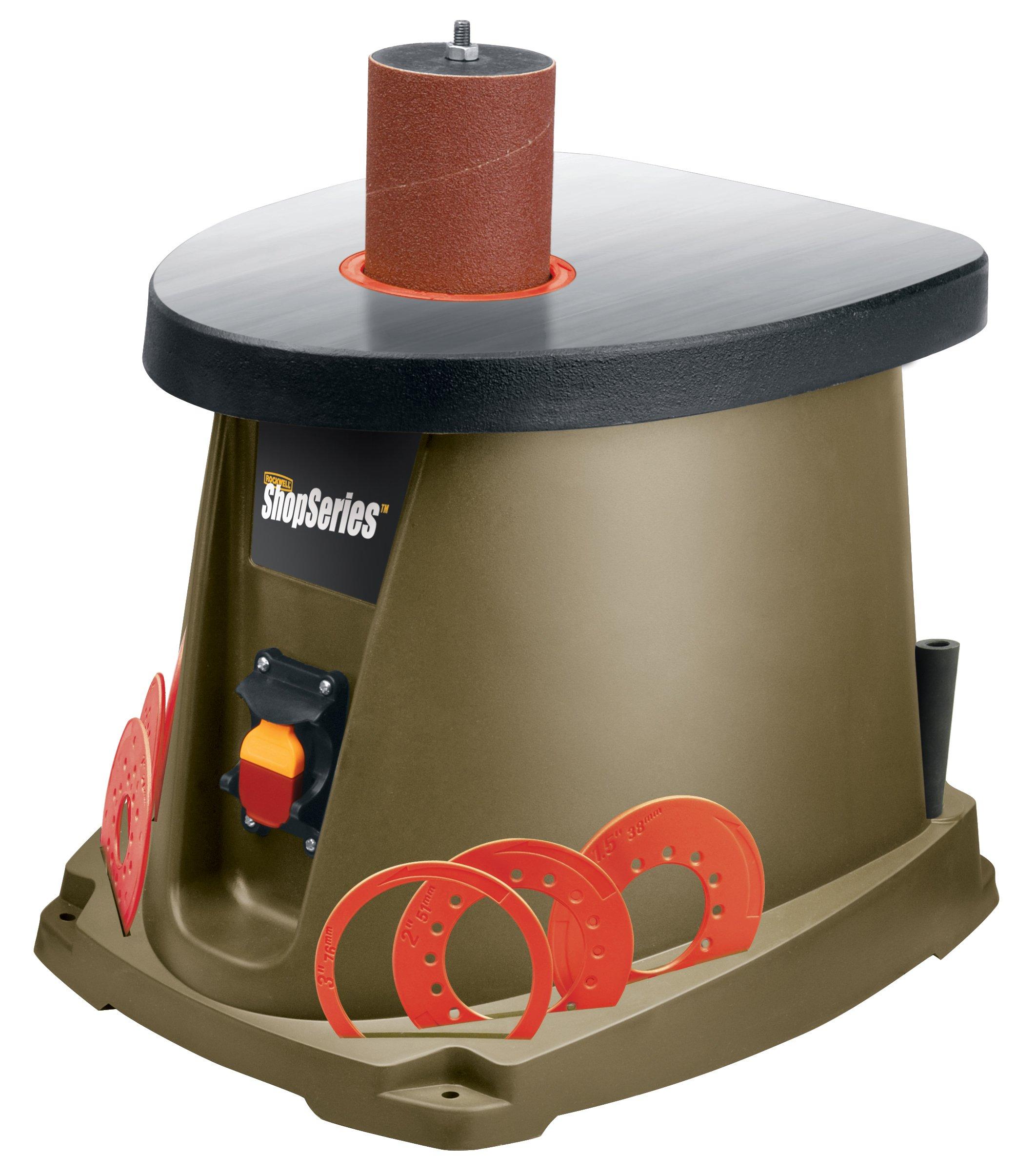 ShopSeries RK9011 3.5-Amp Oscillating Spindle Sander Kit by Rockwell