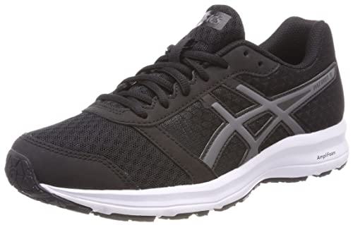 Nero 37.5 EU ASICS PATRIOT 8 SCARPE RUNNING DONNA BLACK/WHITE/WHITE Nuovo