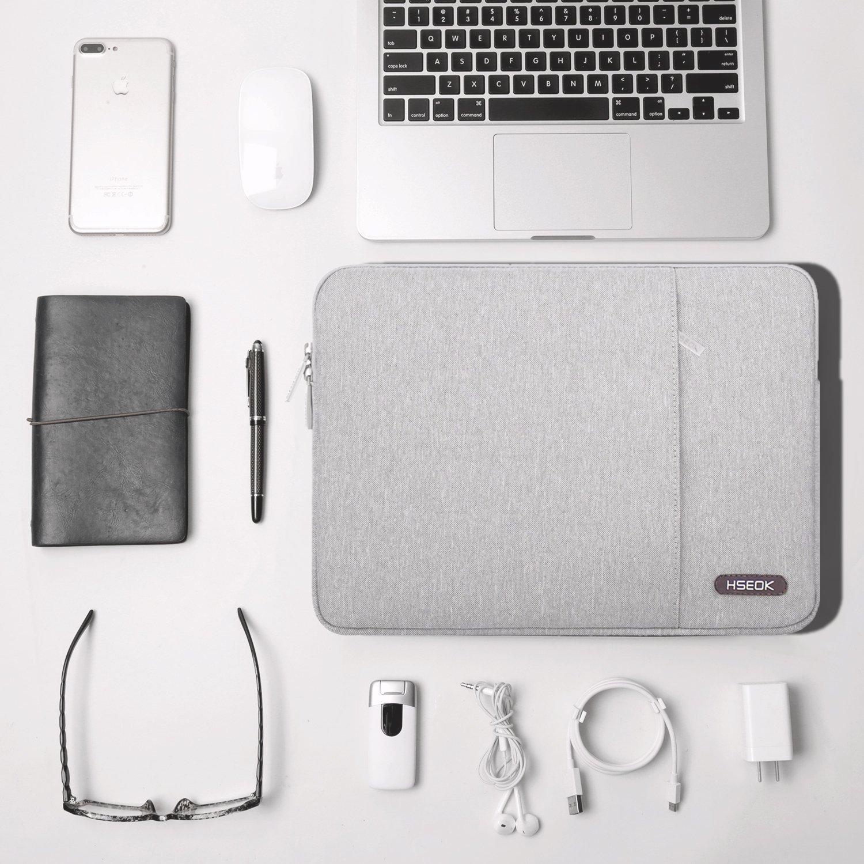 Azul HSEOK 13-13,3 Pulgadas MacBook Air Funda Protectora para Ordenadores Port/átiles PC Bolsa para la Mayor/ía de Las Laptop de 13-14 Pulgadas Surface Book Apple Acer Ausu DELL HP Lenovo