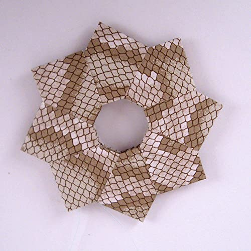 Step By Step Instructions How To Make Origami Christmas Wreath ...   500x500