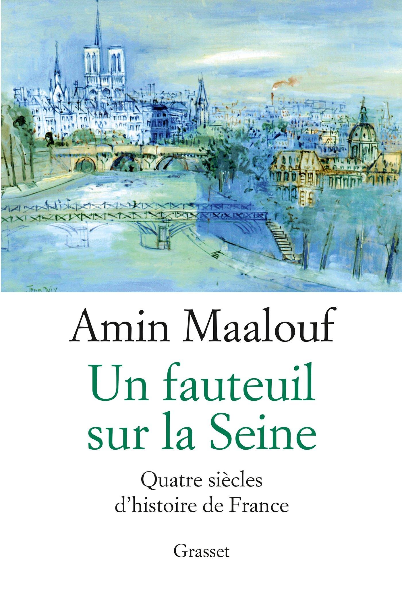 """Résultat de recherche d'images pour """"amin maalouf un fauteuil sur la seine"""""""