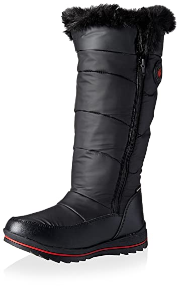Amazon.com | Cougar Women's Bistro Tall Winter Boot, Black, 6 M US ...