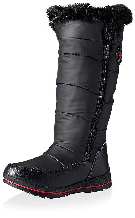 bfd7711591742 Cougar Women's Bistro Tall Winter Boot, Black, 6 M US: Amazon.ca ...