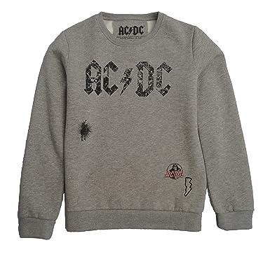 AC/DC Sudadera para Niño otoño Invierno Casual Sudadera Camisas Blusa Top chándales (5