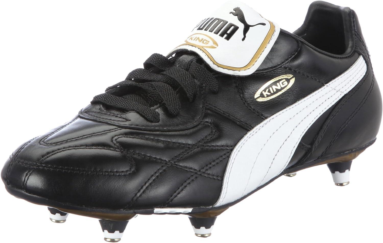 PUMA King Pro SG Men's Soccer Boots, Black, US10