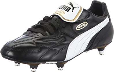 PUMA King Pro SG Men's Soccer Boots, Black, US10
